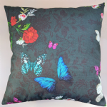 "Cushion Cover in Next Twilight Garden Matches Curtains 14"" 16"" 18"" 20"""